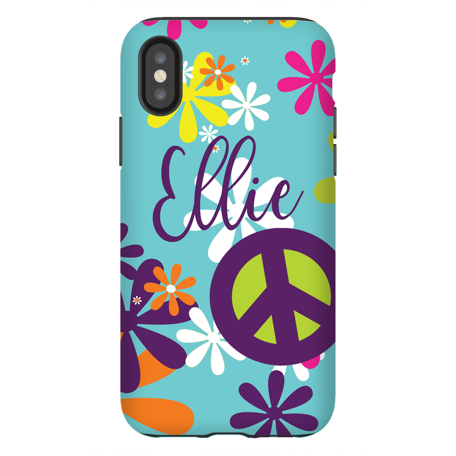 newest 595ec 2b8db Hippie Chick Personalized Phone Case - iPhone, Samsung Case