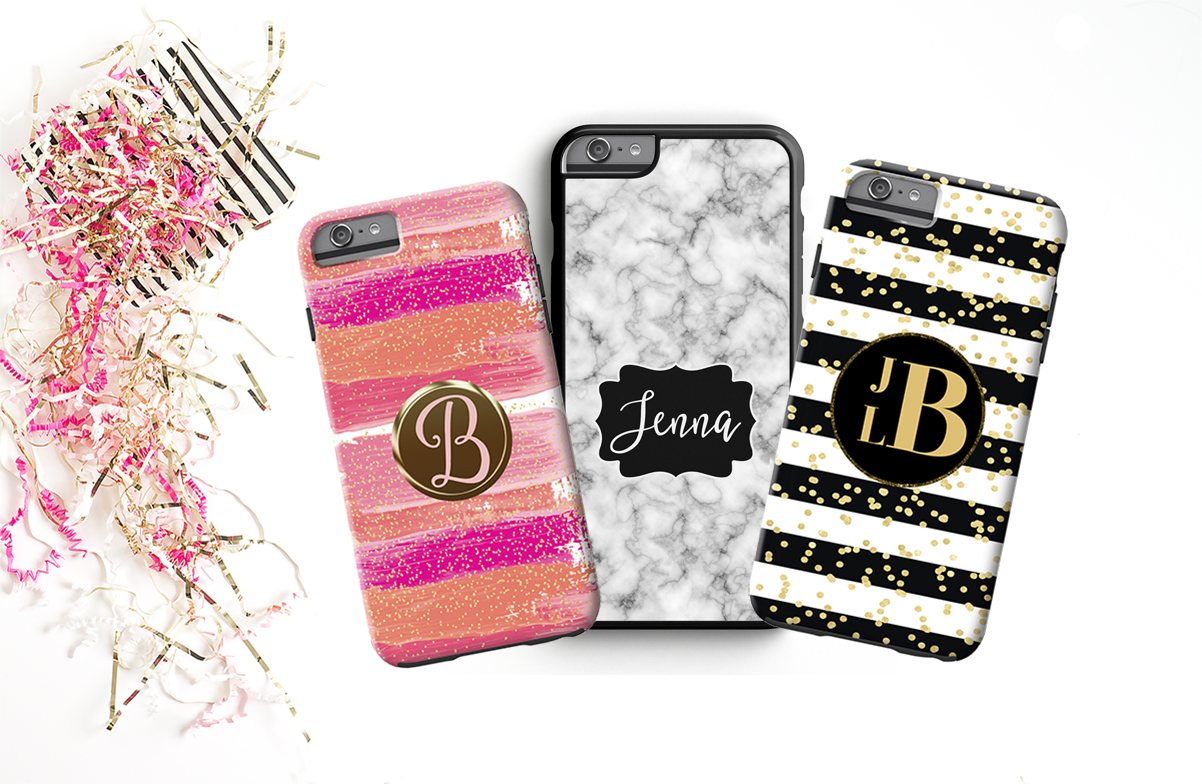 Personalized Monogrammed Phone Case