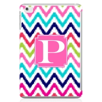 Ikat Chevron Personalized iPad Mini Case