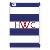 Rugby Stripe Personalized iPad Mini Case
