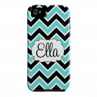 2 Color Chevron Personalized Phone Case