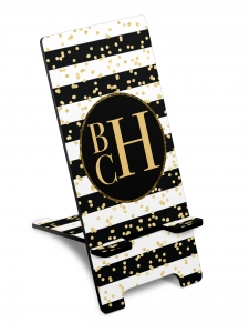Glam Stripes Custom Personalized Smart Phone Stand