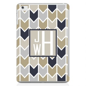 Herringbone Personalized iPad Mini Case