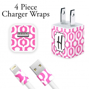 Urban Print Personalized Charger Wrap