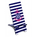 Personalized Nautical Anchor Stripe Phone Stand